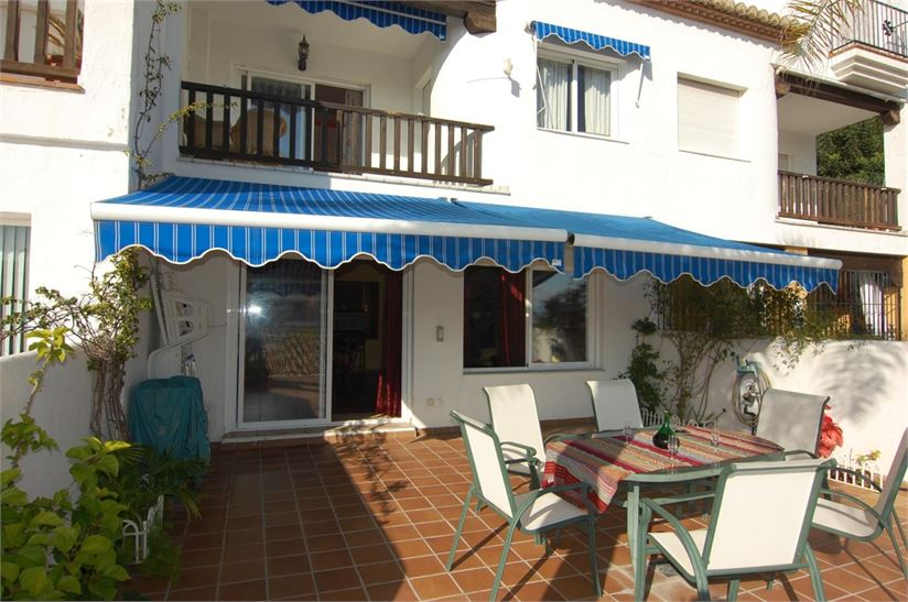 detached awnings semi detached house for sale in la herradura granada with space
