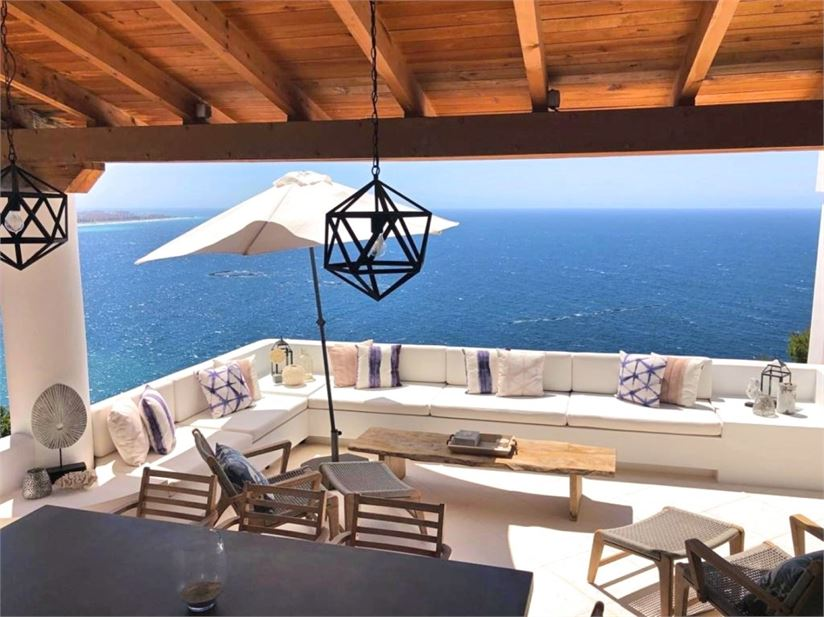 Enjoy the stunning views from one of the terraces