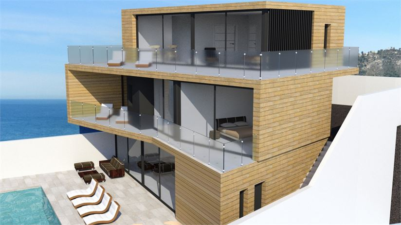 4 bed villa in construction, completion early 2021