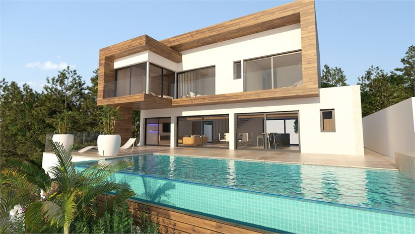 3 bedroom villa with private pool, terrace, garage