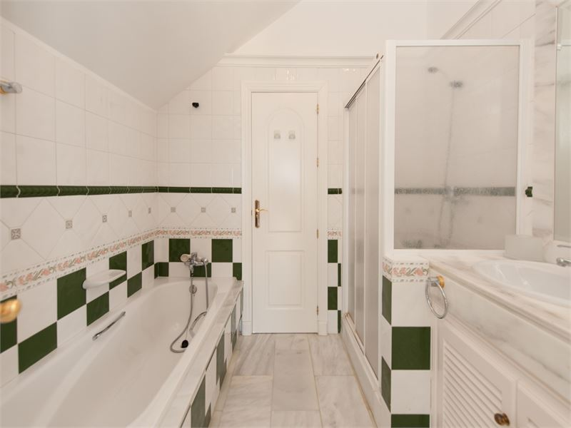 Shared upstairs toilet